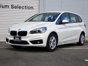 BMW 2シリーズ 218dグランツアラー 認定中古車 純正ナビゲーション ミラー内蔵型ETC コンフォートアクセス 電動テールゲート LEDヘッドライト オートエアコン フロント・リア障害物センサー バックカメラ