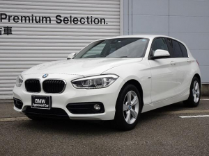 BMW 1シリーズ 118i スポーツ 認定中古車 前車接近警告機能 被害軽減ブレーキ 車線逸脱警告機能 純正HDDナビゲーション ミラー内蔵型ETC LRDヘッドライト バックカメラ 障害物センサー