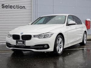 BMW 3シリーズ 330eスポーツアイパフォーマンス 認定中古車 アクティブクルーズコントロール 車線逸脱警告機能 被害軽減ブレーキ 前車接近警告機能 純正HDDナビゲーション ミラー内蔵型ETC コンフォートアクセス Bluetooth