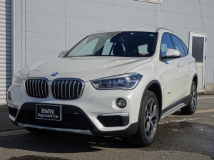 BMW X1 sDrive 18i xライン 純正HDDナビゲーション ミラー内蔵型ETC 純正18インチアロイ・ホイール オートライト オートワイパー 電動テールゲート ミュージックサーバー 被害軽減ブレーキ 車線逸脱警告 Bluetooth