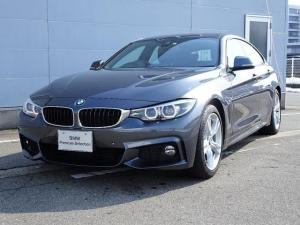 BMW 4シリーズ 420iグランクーペ Mスピリット アクティブクルーズコントロール 純正HDDナビゲーション ミラー内蔵型ETC 被害軽減ブレーキ 車線逸脱警告機能 レーンチェンジウォーニング オートライト オートワイパー LEDヘッドライト