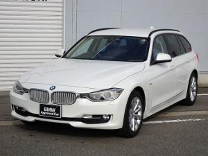 BMW 3シリーズ 320dツーリング モダン 純正HDDナビゲーション ミラー内蔵型ETC 前車接近警告機能 車線逸脱警告機能 被害軽減ブレーキ ミュージックサーバー Bluetooth バックカメラ 電動テールゲート パワーシート