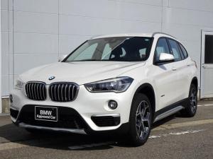 BMW X1 sDrive 18i xライン 純正HDDナビゲーション ミラー内蔵型ETC 純正18インチアロイホイル 電動テールゲート ミュージックサーバー Bluetooth アクティブクルーズコントロール バックカメラ 被害軽減ブレーキ