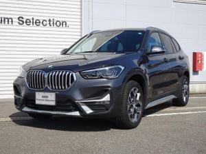BMW X1 xDrive 18d xライン LCIモデル アクティブクルーズコントロール LEDヘッドライト 電動シート 電動テールゲート 純正HDDナビ バックカメラ ミラー内蔵型ETC 車線逸脱警告機能 前車接近警告機能 被害軽減ブレーキ