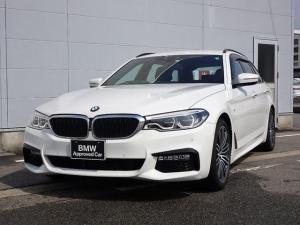 BMW 5シリーズ 523dツーリング Mスポーツ 純正HDDナビゲーション ミラー内蔵型ETC アクティブクルーズコントロール アダプティブLEDヘッドライト レーンチェンジウォーニング Bluetooth ミュージックサーバー 被害軽減ブレーキ