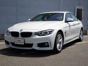 BMW 4シリーズ 420iグランクーペ Mスピリット 純正HDDナビゲーション ミラー内蔵型ETC アクティブクルーズコントロール 被害軽減ブレーキ 車線逸脱警告機能 シートヒーター LEDヘッドライト Bluetooth 電動テールゲート パワーシート