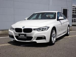 BMW 3シリーズ 320d Mスポーツ 純正HDDナビゲーション ミラー内蔵型ETC アクティブクルーズコントロール LEDヘッドライト 被害軽減ブレーキ 車線逸脱警告機能 シートヒーター Bluetooth 電動パワーシート