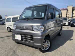 三菱 ミニキャブバン CD 4WD エアコン パワステ 5MT 13インチアルミ Wエアバック