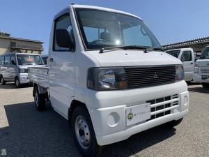 三菱 ミニキャブトラック Vタイプ 4WD エアコン パワステ 新品タイヤ