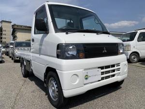 三菱 ミニキャブトラック Vタイプ 4WD エアコン パワステ 5MT 新品タイヤ