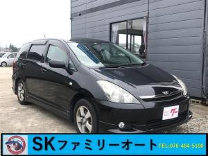 トヨタ ウィッシュ X Sパッケージ インパネ4速AT CD再生 キーレス