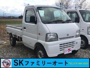 スズキ キャリイトラック 4WD MT 軽トラック 白