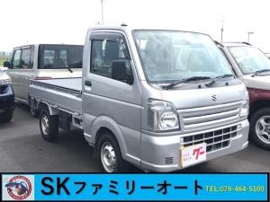 スズキ キャリイトラック エアコン パワステ 4WD AC MT 軽トラック シルバー