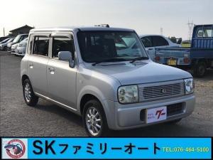 スズキ アルトラパン X 4WD キーレス アルミ