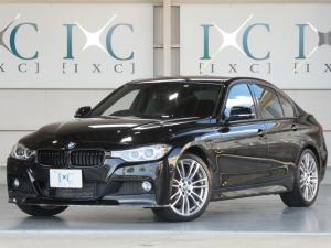 BMW 3シリーズ 320d Mスポーツ HDDナビフルセグTV 衝突軽減ブレーキ Mperformanceブレーキ 純正OP19インチAW 車線逸脱警告 ブラックグリル スポーツシート コンフォートアクセス カーボン調フロントスポイラー