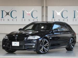 BMW 5シリーズ 523iツーリング Mスポーツパッケージ 新品20インチAW 新品フロントリップスポイラー 純正HDDナビ 地デジフルセグTV DVDビデオ再生 Bカメラ ミュージックサーバー Bluetooth対応 ミラーETC バイキセノンライト