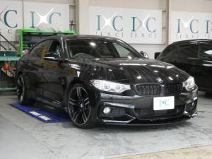 BMW 4シリーズ 420iグランクーペ Mスポーツ 新品フロントスポイラー 19インチアルミ 純正HDDナビ 地デジフルセグTV バックカメラ オートテールゲート インテリジェントセーフティ ACCアダプティブクルーズコントロール