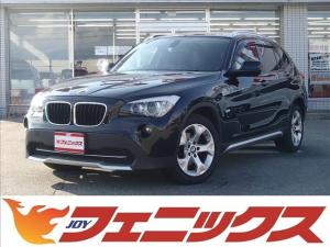 BMW X1 xDrive 20i 4WDターボ メモリナビTV バックカメラ ETC バイキセノン オートライト 前後フォグランプ スマートキー プッシュスタート 8速MTモード 革巻ハンドル