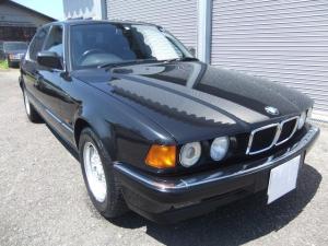 BMW 7シリーズ 730i 車検令和4年11月 ワンオーナー フルノーマル ATオーバーホール ダイヤモンドブラック V8DOHC 本革レザーシート 右ハンドル 純正BBSホイール ガラスコーティング 新品タイヤ