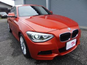 BMW 1シリーズ 116i Mスポーツ ヴァレンシアオレンジ ワンオーナー ディーラー記録簿 禁煙車 iDrive HDDナビ バックカメラ Bluetooth ETC BS ポテンザRFT