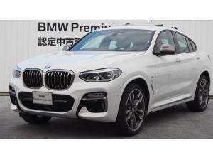 BMW X4 M40i 茶レザー ガラスSR HUD 認定中古車