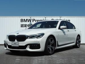 BMW 7シリーズ 740d xDrive Mスポーツ 1オーナー 認定中古車