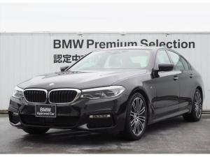 BMW 5シリーズ 523i Mスポーツ 黒レザー ACC HUD 全方位
