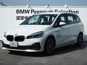 BMW 2シリーズ 218iグランツアラー スポーツ 認定中古車 コンフォートPKG 純正17AW
