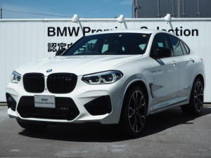 BMW X4 M コンペティション 認定中古車 コンペティションPKG Mシートベルト カーボンファイバーインテリアトリム