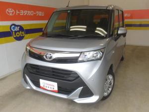 トヨタ タンク X S サポカーS メモリーナビ ETC バックモニター