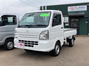 マツダ スクラムトラック KCエアコン・パワステ 4WD AC AT