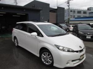 トヨタ ウィッシュ 1.8S サンルーフ 4社ローン取り扱い ETC 禁煙車