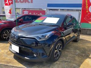 トヨタ C-HR G レーダークルコン シートヒーター レーンキープ バックモニター 横滑り防止装置 ABS ドラレコ