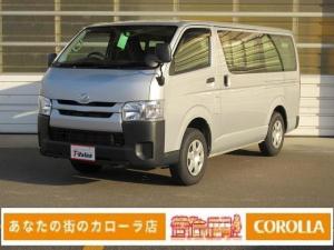 トヨタ ハイエースバン ロングDX SDナビ ETC ディーゼル ワンセグTV CD
