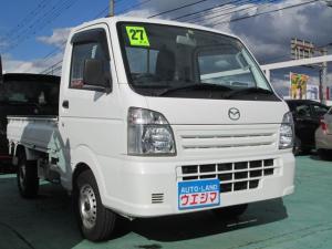 マツダ スクラムトラック KCエアコン・パワステ 4WD 三方開き 保証付き