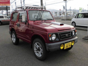 スズキ ジムニー XC 4WD 5MT CDデッキ パワステ 純正アルミ