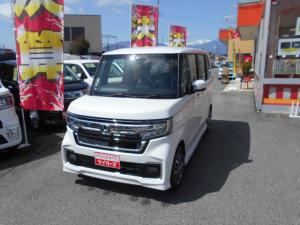 ホンダ N-BOXカスタム L プッシュスタート LEDヘッドライト シートヒーター バックカメラ 届出済未使用車