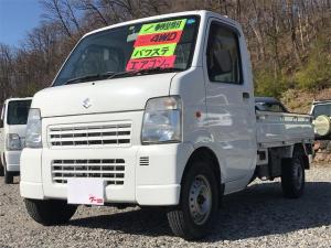 スズキ キャリイトラック KCエアコン・パワステ農繁仕様 4WD 5速マニュアル