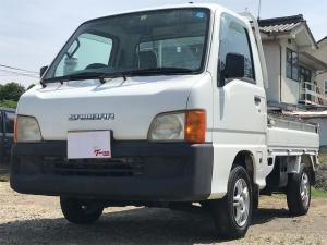 スバル サンバートラック 4WD 5速マニュアル 走行距離29622キロ 車検整備付き