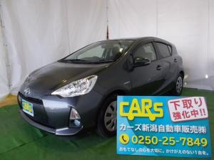 トヨタ アクア G 社外ナビ フルセグTV DVD再生 ワンオーナー車