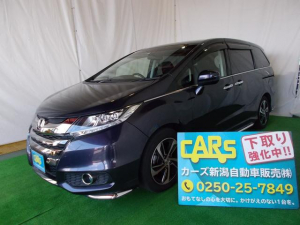 ホンダ オデッセイ アブソルート 関東車 インターナビ Bluetooth対応