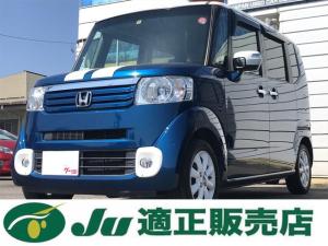 ホンダ N-BOX+ 2トーンカラースタイル G・ターボパッケージ ナビ テレビ
