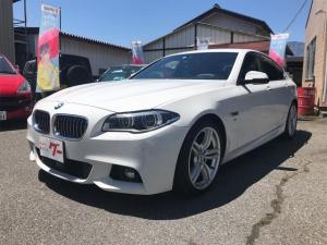 BMW 5シリーズ 528i Mスポーツ 左ハンドル ディーラー車 HDDナビ