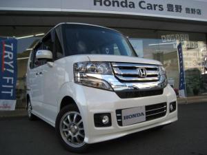 ホンダ N-BOXカスタム G 4WD バックカメラ付CD スマートキー HIDオート ETC シートヒーター