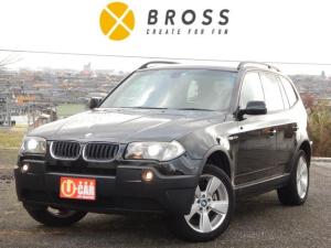BMW X3 2.5i 4WD 純正18インチアルミ サンルーフ クルーズコントロール HIDライト