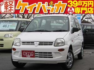 三菱 ミニカ ライラ 5MT CDMDデッキ 社外13インチアルミ
