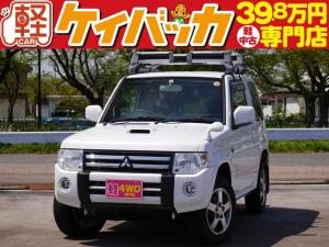 三菱 パジェロミニ VR 4WD ターボ CD/AUX 純正AW ETC