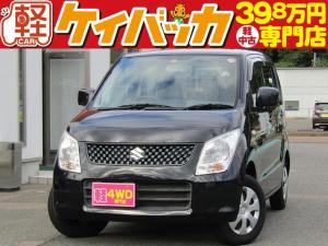 スズキ ワゴンR FX 4WD 5MT 純正CDオーディオ キーレス 運転席シートヒーター フル装備 ABS Wエアバッグ