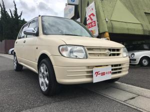 ダイハツ ミラ CD 4WD 5速マニュアル タイベル交換済 社外14AW