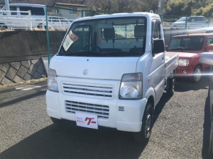 スズキ キャリイトラック 4WD 5速マニュアル 軽トラック 2名乗り ホワイト